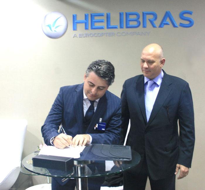 AGS assina acordo com Helibras para transporte de turbinas para o EC725